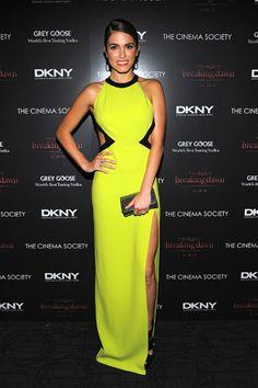 NICEEEEE --- Nikki Reed attends the Cinema Society & DKNY screening of 'The Twilight Saga: Breaking Dawn – Part 1′ in New York City.