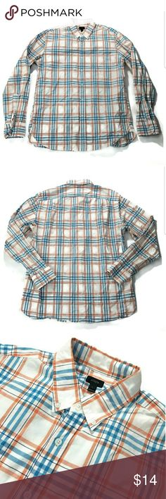 J Crew button up mens Great condition. Size large. 100% cotton. J. Crew Shirts Casual Button Down Shirts