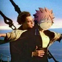 I think Natsu likes the motion sickness more than than that guy from Titanic XD Arte Fairy Tail, Fairy Tail Meme, Fairy Tail Quotes, Natsu Fairy Tail, Fairy Tail Ships, Otaku Anime, Manga Anime, Anime Meme, Sarada Uchiha