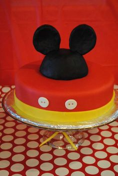 Mickey and Minnie Mouse Birthday Party Ideas | Photo 23 of 30 | Catch My Party