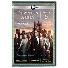 The final season of Downton Abbey is now available on DVD. Check your copy out today!