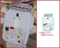 Merry Christmas in a Jar {Free Download}