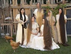 If there were two things the Brittain family women were masters, it was  chickens & hair.