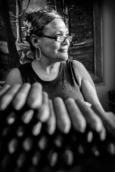 Woman in a bakery in Costa Rica