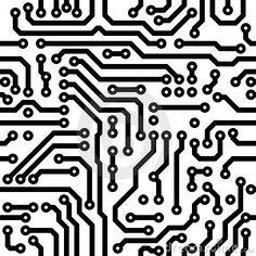 Textura sem emenda - placa de circuito