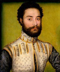 ab. 1557 Corneille de Lyon - François de Montmorency