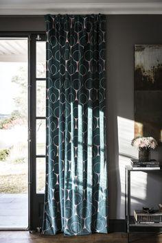 Art Deco Curtains, Maila, Velvet, Living Room, Pattern, Blog, Design, Home Decor, Tyger