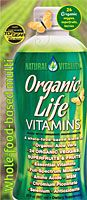 The BEST LIQUID wholefood Vitamins on the planet!  Organic Life Vitamins is an energy-packed multi-nutrient—more than a multi-vitamin. Organic Life Vitamins is a liquid revolution in daily nutrition—a new generation in multis! It's a convenient, great-tasting and economical way to get premium nutrition your body can use every day.