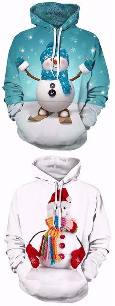 Snowman Christmas Hoodies