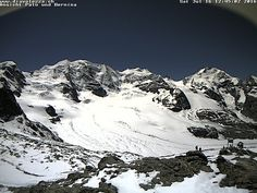 Diavolezza webcam Piz Palu und Piz Bernina Skiweather.eu