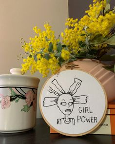 hand sewn embroidered art by embroiderybyjessi Embroidery On Clothes, Embroidery Hoops, Hand Embroidery Stitches, Embroidery Jewelry, Embroidery Art, Cute Crafts, Diy Crafts, Yarn Storage, Vintage Jewelry Crafts