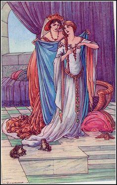 The Wild Swans -- Newsome -- Fairytale Illustration