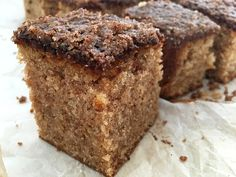 Milk and Honey: Brown Sugar Apple Upside Down Cake with Apple Cider Caramel and Spiced Walnuts Sweet Recipes, Cake Recipes, Bread Cake, Angel Food Cake, Chiffon Cake, Sweet Bread, Chocolate Recipes, Making Chocolate, Love Food