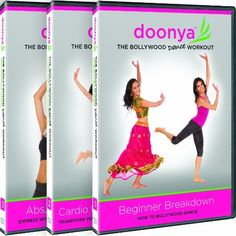 Doonya: The Bollywood Dance Workout Complete 3 Dvd Series Best Workout Dvds, Best At Home Workout, Workout Videos, All About Dance, Dancing Day, Dvd Set, Fun Workouts, Dance Workouts, Dance Moves