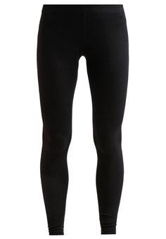 Nike Sportswear Leggings Hosen black/white Bekleidung bei Zalando.de | Material Oberstoff: 57% Baumwolle, 32% Polyester, 11% Elasthan | Bekleidung jetzt versandkostenfrei bei Zalando.de bestellen!