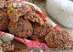 Biscoitos de Coco e Chocolate Diet