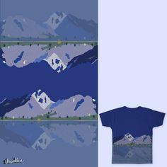 Mountain and bear on Threadless