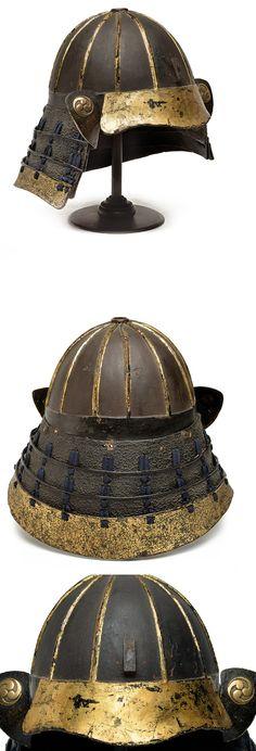 A gilt kabuto: provenance: Japan dating: circa 1800