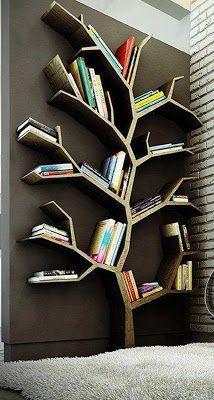 Love this tree bookshelf!