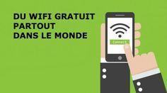 Que diriez-vous de pouvoir vous connecter gratuitement à tous les Wifi qui sont autour de vous ? Oui, oui, partout où vous vous trouvez ! Cafés, hôtels, restaurants, parcs et même à l'ét Multimedia, Le Wifi, Becoming A Personal Trainer, Smartphone, Pc Android, Travel Box, Ipad, Read Later, Tatoo