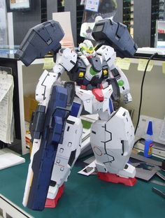 GN-005 Gundam Virtue Papercraft by Rarra - http://www.papercraftsquare.com/gn-005-gundam-virtue-papercraft-by-rarra.html#Detailed, #GN005, #GN005GundamVirtue, #Gundam, #GundamVirtueParticleType, #MobileSuitGundam00, #Virtue