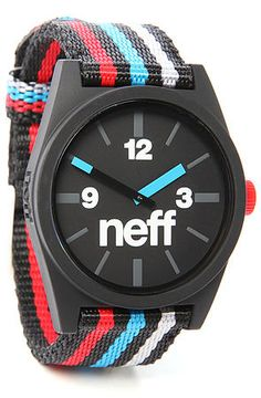 The Daily Woven Watch in Patriot by NEFF