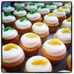 Lemon Blossom cupcakes & Key Lime cupcakes by Georgetown Cupcake