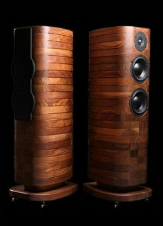 Acoustic preference speakers - For Music Room Audiophile Speakers, Hifi Audio, Stereo Speakers, Hifi Amplifier, Audio Design, Speaker Design, Sound Design, High End Speakers, Cool Tech
