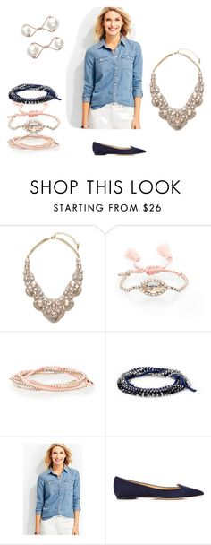 Spring is Coming! by mertensmk on Polyvore featuring Talbots, Chloe + Isabel and Jimmy Choo