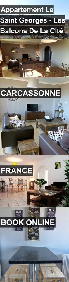 Hotel Appartement Le Saint Georges - Les Balcons De La Cité in Carcassonne, France. For more information, photos, reviews and best prices please follow the link. #France #Carcassonne #travel #vacation #hotel