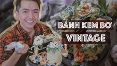 #05 Hướng Dẫn Cách Ghép Hoa Kem Bơ Vintage // Vintage buttercream flower cake. - YouTube Button Down Shirt, Men Casual, Sweets, Vintage, Youtube, Mens Tops, Instagram, Dress Shirt, Gummi Candy