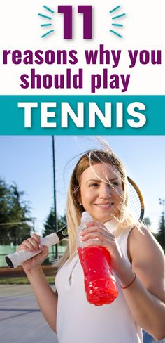 Tennis is a great sport to play because of the health and social benefits.  It allows you to work all muscle groups and meet new people to play in tournaments and tennis matches with.