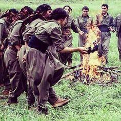 DANCE PKK IN NORTH KURDISTAN