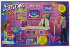 BARBIE 1987 PLAYSET 6 O'CLOCK NEWS *READ SHIPPING*