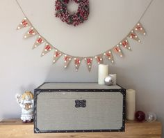 A personal favorite from my Etsy shop https://www.etsy.com/uk/listing/251863727/merry-christmas-hessian-bunting-banner