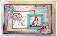 Jorunns fristed: Å `Jul med din glede. Winter Magic, Frame, Home Decor, Homemade Home Decor, A Frame, Frames, Hoop, Decoration Home, Interior Decorating