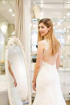 I asked my fiancé, mum and bridesmaid to choose their dream wedding dress for meghkuk London Blog, Dream Wedding Dresses, Wedding Bridesmaids, Dream Dress, Fashion Beauty, Mom, Mirror Mirror, How To Wear, Mothers