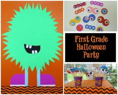 117 Best K 1st 2nd Grade Halloween Party Images Halloween Crafts