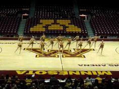 University of Minnesota Dance Team Jazz 2012. Amazing!