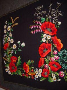 Muhu hand embroidered tapestry, Estonia