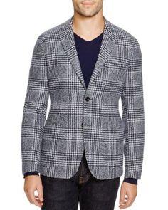 Hardy Amies Plaid Moon Peak Slim Fit Sport Coat - 100% Bloomingdale s  Exclusive Men - Blazers   Sport Coats - Bloomingdale s 537d72c54472