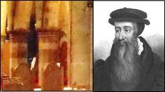 Ghost of  John Knox  Church in Perth Scotland