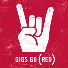 GIGS GO (RED) June 1-10. Iconic music venues from NY -> Seattle turn (RED) to help fight AIDS. Get the lineup now.