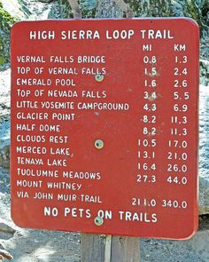 This summer might be time to cross off that bottom one....John Muir Trail