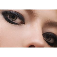Sergey Naumov JET BLACK EYE SHADOW ($27) ❤ liked on Polyvore featuring beauty products, makeup, eye makeup and eyeshadow