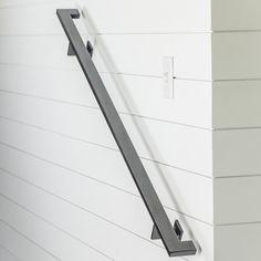 Modern Handrail  3'-4' foot (2 brackets)