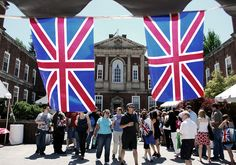British Embassy - The best place to visit during European week of Passport DC - lots of food, raffles, tourist info, and free Scotch whisky (the Famous Grouse)