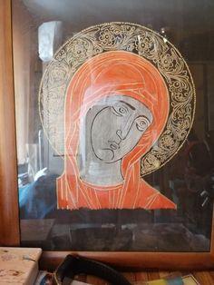 Glass, Painting, Etchings, Drinkware, Corning Glass, Painting Art, Paintings, Painted Canvas, Yuri