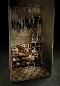 Ron Pippin. #birds #skeleton