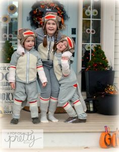 Halloween Costume Ideas: Sweet DIY Sock Monkey